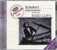 CD Impromptus completi Franz Schubert Radu Lupu