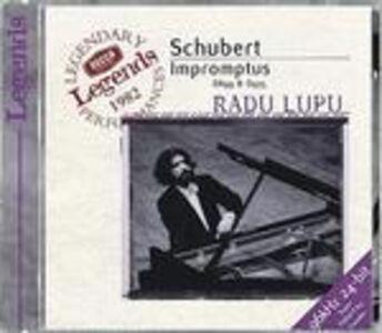 CD Impromptus completi di Franz Schubert