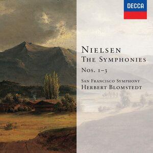CD Sinfonie n.1, n.2, n.3 di Carl August Nielsen