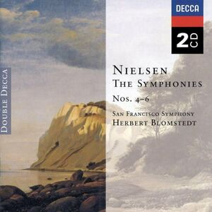 CD Sinfonie n.4, n.5, n.6 di Carl August Nielsen