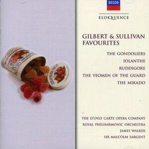 CD Favourites di Arthur Sullivan