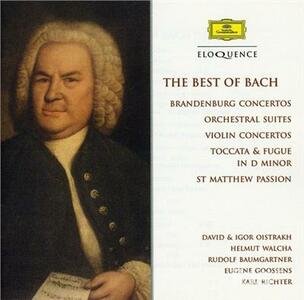 Best of Bach - CD Audio di Johann Sebastian Bach