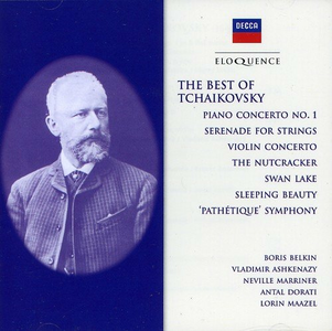 CD Best of Tchaikovsky di Pyotr Il'yich Tchaikovsky