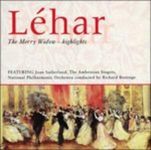 La vedova allegra (Die Lustige Witwe) - CD Audio di Franz Lehàr
