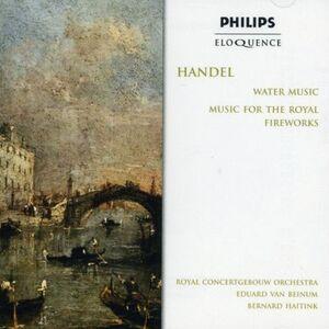 CD Water Music - Fireworks Mus di Georg Friedrich Händel
