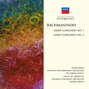 CD Concerto per Pianoforte No. 3 di Sergei Vasilevich Rachmaninov