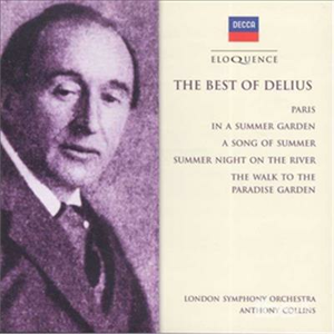 CD Best of Delius di Frederick Delius