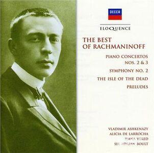 CD Best of Rachmaninov di Sergei Vasilevich Rachmaninov