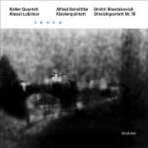 CD Lento. Quintetto con pianoforte / Quartetto per archi Dmitri Shostakovich , Alfred Schnittke