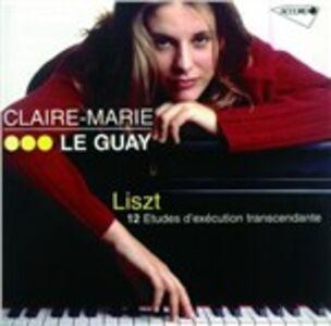 CD 12 Studi d'esecuzione trascendentale di Franz Liszt