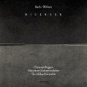 CD Ricercar Johann Sebastian Bach , Anton Webern