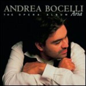 Foto Cover di Aria. The Opera Album, CD di Andrea Bocelli, prodotto da Universal