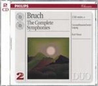 CD Sinfonie complete di Max Bruch