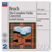 CD Concerti per violino completi - Fantasia scozzese Max Bruch Salvatore Accardo Kurt Masur