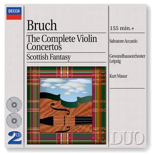CD Concerti per violino completi - Fantasia scozzese di Max Bruch