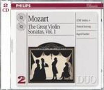 CD Le grandi sonate per violino vol.1 di Wolfgang Amadeus Mozart