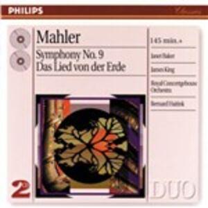 CD Sinfonia n.9 - Il canto della terra (Das Lied von der Erde) di Gustav Mahler