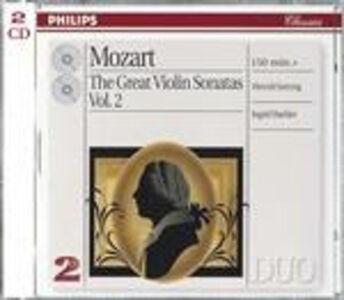 CD Le grandi sonate per violino vol.2 di Wolfgang Amadeus Mozart