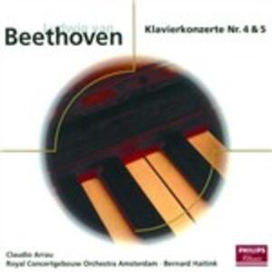 Concerti per pianoforte n.4, n.5 - CD Audio di Ludwig van Beethoven