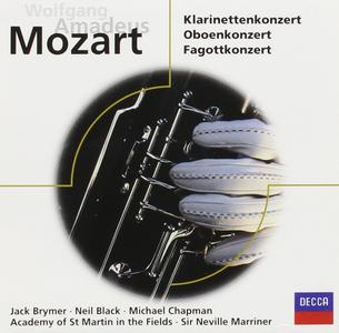 CD Clarinet, Bassoon & Oboe di Wolfgang Amadeus Mozart