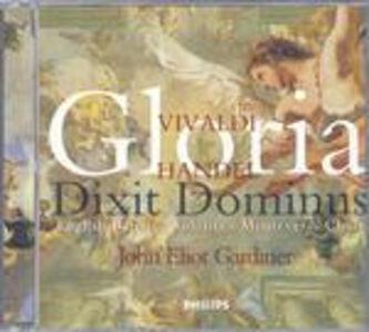 CD Gloria / Gloria - Dixit Dominus Antonio Vivaldi , Georg Friedrich Händel