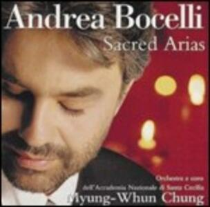Sacred Arias - CD Audio di Andrea Bocelli