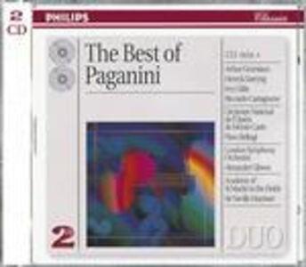 CD The Best of Paganini di Niccolò Paganini
