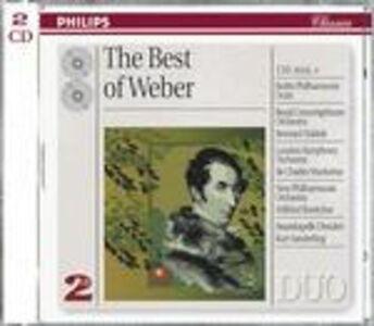 CD The Best of Weber di Carl Maria Von Weber