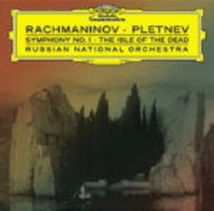 Foto Cover di Sinfonia n.1 - Rapsodia su un tema di Paganini, CD di AA.VV prodotto da Deutsche Grammophon