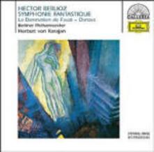 Sinfonia fantastica (Symphonie fantastique) - La dannazione di Faust (La damnation de Faust) - CD Audio di Hector Berlioz,Herbert Von Karajan,Berliner Philharmoniker