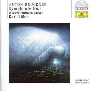 Sinfonia n.8 - CD Audio di Anton Bruckner,Karl Böhm,Wiener Philharmoniker