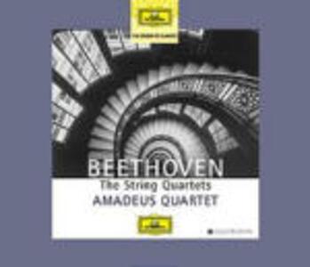 Quartetti per archi completi - CD Audio di Ludwig van Beethoven,Amadeus Quartet