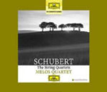Quartetti - CD Audio di Franz Schubert,Melos Quartett