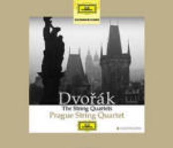Quartetti per archi - CD Audio di Antonin Dvorak,Prague String Quartet