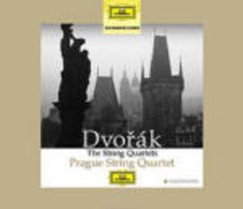 Foto Cover di Quartetti per archi, CD di Antonin Dvorak,Prague String Quartet, prodotto da Deutsche Grammophon