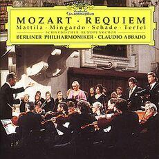 CD Requiem K626 Wolfgang Amadeus Mozart Bryn Terfel Claudio Abbado