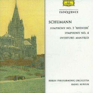 Foto Cover di Sinfonie n.3, n.4, CD di Robert Schumann, prodotto da Eloquence