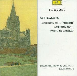 CD Sinfonie n.3, n.4 di Robert Schumann