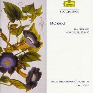 Sinfonie N.26, N.28, N.29, N.30 - CD Audio di Wolfgang Amadeus Mozart