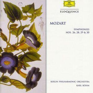 CD Sinfonie N.26, N.28, N.29, N.30 di Wolfgang Amadeus Mozart