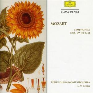 CD Sinfonie N.39, N.40, N.41 di Wolfgang Amadeus Mozart