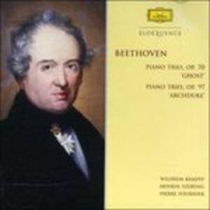 Trii con Pianoforte - Ghost & Archd - CD Audio di Ludwig van Beethoven