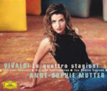 Foto Cover di Le quattro stagioni / Il trillo del Diavolo, CD di Antonio Vivaldi,Anne-Sophie Mutter, prodotto da Deutsche Grammophon