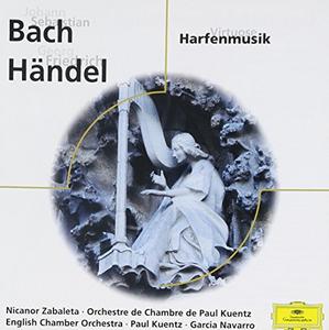 CD Harfenmusik di Johann Sebastian Bach