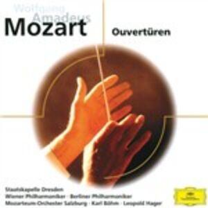 Foto Cover di Opera Overtures, CD di Wolfgang Amadeus Mozart, prodotto da Eloquence
