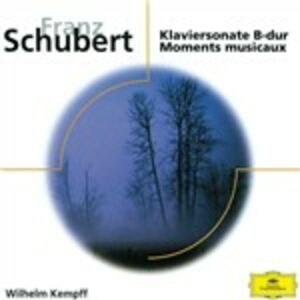 CD Sonata per pianoforte D960 di Franz Schubert