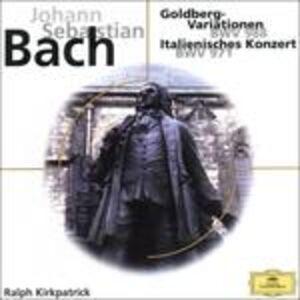 CD Variazioni Goldberg di Johann Sebastian Bach