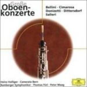 Foto Cover di Oboe Concertos, CD di  prodotto da Eloquence