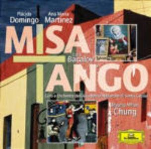 CD Misa Tango (Colonna Sonora) Astor Piazzolla , Luis Bacalov