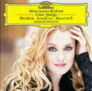 CD Love Songs Antonin Dvorak , Leos Janacek , Bohuslav Martinu
